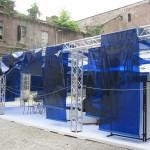 """Installation scénographique """"Site specific"""" de Stuart et Siegmann / Festival Teatro a Corte"""