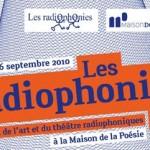 Festival Les Radiophonies #9 // 24, 25, 26.09.10