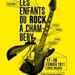 Festival Les Enfants du Rock à Chambéry // 17-20.02.11