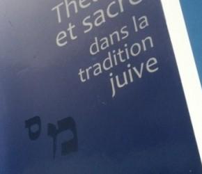Lecture • « Théâtre et sacré dans la tradition juive » chez PUF, Collection « lectures du judaïsme »