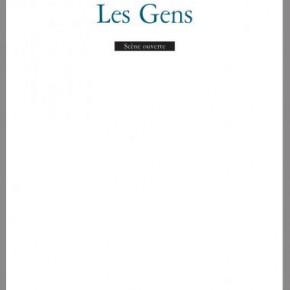 Lecture ・ «Les gens» d'Edward Bond, L'Arche Éditeur
