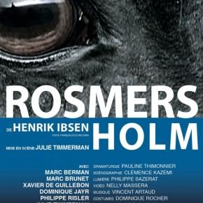 Critique ・ Rosmersholm, d'Ibsen au théâtre de l'Opprimé