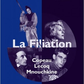 Lecture. « La filiation, Copeau, Lecoq, Mnouchkine », Guy Freixe, Editions de l'Entretemps
