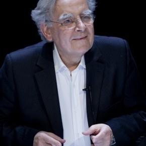 « Au secours ! Les mots m'ont mangé » lecture spectacle de Bernard Pivot, au Théâtre du Rond-point