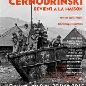 « Černodrinski revient à la maison » de Goran Stefanosvski, par le théâtre National de Syldavie. Maison d'Europe et d'orient.