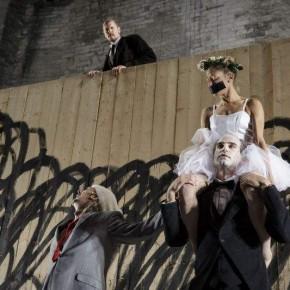 « Le roi Lear », d'après William Shakespeare, mise en scène d'Olivier Py, Cour d'honneur du Palais des papes