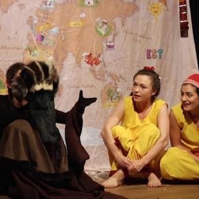 « Conte-Moi la Terre », par la Compagnie Ankréation. Centre d'animation Daviel