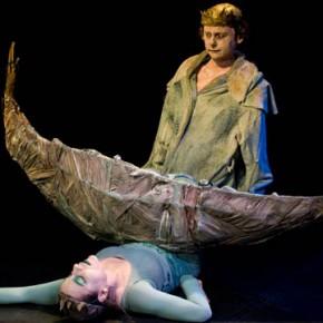 « Queue de Poissonne » d'après La Petite Sirène de Hans Christian Andersen, Mise en scène lka Schönbein au Grand Parquet