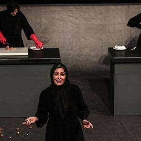 « Chaque jour un peu plus » de Mahin Sadri, mise en scène d'Afsaneh Mahian au Théâtre des Abbesses