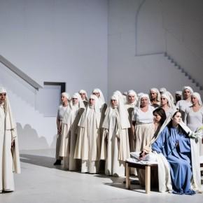 Ödipus der Tyrann de Castellucci, Théâtre de la Ville. Festival d'Automne