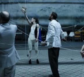 La Cerisaie de Tchekhov, collectif tg STAN, Théâtre de la Colline, Festival d'Automne à Paris