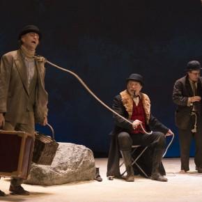 En attendant Godot de Beckett, mise en scène de Jean-Pierre Vincent aux Bouffes du Nord