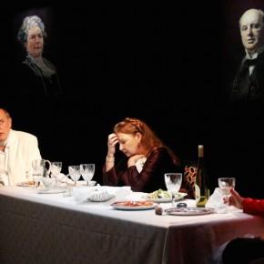Déjeuner chez Wittgenstein de Thomas Bernhard, mise en scène Agathe Alexis, au Théâtre de l'Atalante