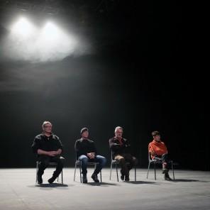 Une longue peine, mise en scène Didier Ruiz à la Maison des métallos