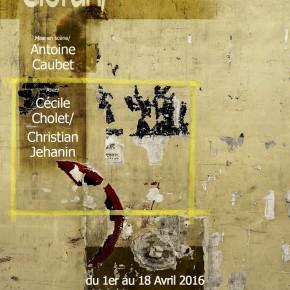 Cioran/Entretien, mise en scène d'Antoine Caubet au Théâtre de l'Atalante