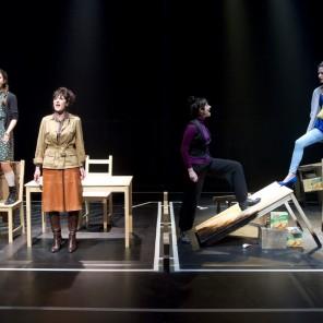 Sur les cendres en avant de Pierre Notte au Théâtre du Rond-Point
