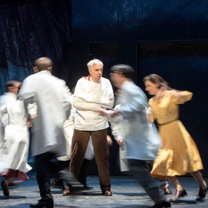 Monsieur de Pourceaugnac, de Molière et Lully, Mise en scène de Clément Hervieu-Léger, Théâtre des Bouffes du Nord