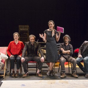 Je t'ai vu pour la première fois au Théâtre de la Bastille, de Tiago Rodrigues, Théâtre de la Bastille