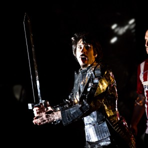 Don Quichotte, d'après Miguel de Cervantès, Mise en scène de Jérémie Le Louë, Chateau de Grignan, Festival des Fêtes Nocturnes