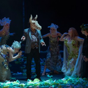 Le Songe d'une nuit d'été de William Shakespeare, mise en scène de Guy Pierre Couleau, Théâtre du Peuple de Bussang