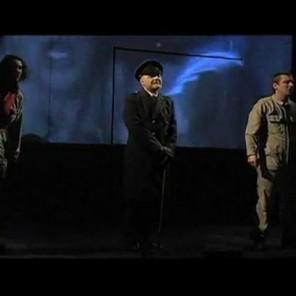 1984, d'après George Orwell, mise en scène Sébastien Jeannerot, au Théâtre de Ménilmontant.