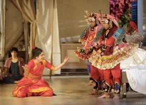 Une chambre en Inde, création collective du Théâtre du Soleil