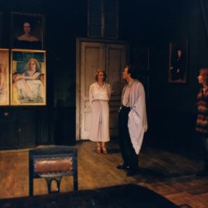 Déjeuner chez Wittgenstein (Ritter, Dene, Voss), De Thomas Bernhard, Mise en scène de Krystian Lupa, Théâtre des Abbesses / Festival d'Automne à Paris