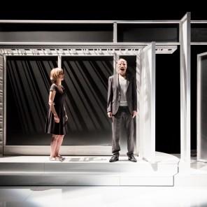 Le Moche de Marius von Mayenburg, mise en scène de Nathalie Sandoz, Théâtre de l'Atalante