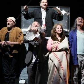 Orchestre Titanic, de Hristo Boytchev mise en scène de Philippe Lanton, au Théâtre de l'Aquarium