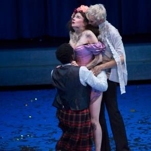 Songes et métamorphoses d'après Ovide et William Shakespeare, mise en scène de Guillaume Vincent aux Ateliers Berthiers Théâtre de l'Odéon