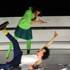 Quand j'étais petit, je voterai, de Boris Le Roy mise en scène d'Emilie Capliez au Théâtre Paris Villette