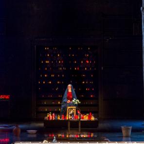 Le testament de Marie, de Colm Toibin, mise en scène de Deborah Warner, à l'Odéon-Théâtre de l'Europe