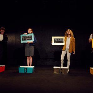 StripTease 419, par Ambre Febvre, Paul Lourdeaux et Thomas Larbey, au Théâtre Ciné 13