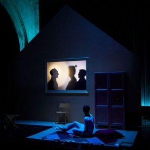 L'imparfait, d'Olivier Balazuc, mise en scène d'Olivier Balazuc, à la Chapelle des Pénitents blancs, Festival d'Avignon In