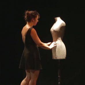 L'affamée d'après Violette Leduc. Théâtre de l'Atelier 44, Festival d'Avignon Off