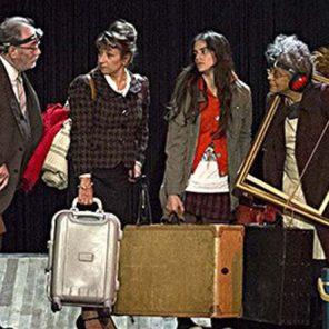 Les bâtisseurs d'empire ou le Schmürz, de Boris Vian, mis en scène par Vincent Ecrepont, au Théâtre des Lucioles, Festival d'Avignon Off.