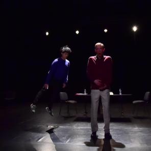 D comme Deleuze, mise en scène Cédric Orain, Théâtre de l'Echangeur