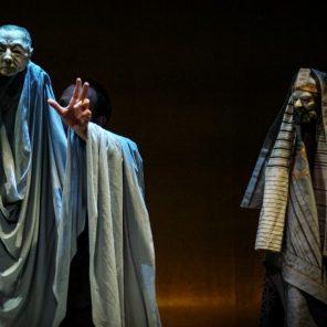 Ponce Pilate, l'histoire qui bifurque, d'après le récit de Roger Caillois, adaptation et mise en scène Xavier Marchand, MC93