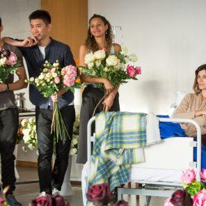 Actrice, texte et mise en scène de Pascal Rambert, Théâtre des Bouffes du Nord