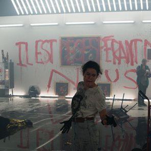 En manque, mis en scène par Vincent Macaigne, à La Villette