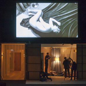 La Maladie de la mort de Marguerite Duras, mise en scène de Katie Mitchell, Théâtre des Bouffes du Nord, Théâtre de la Ville hors les murs
