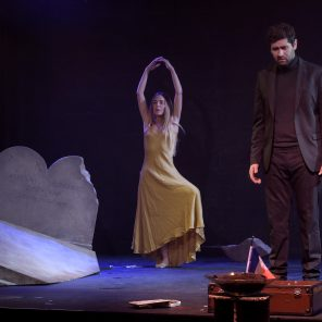 Vendredi 13, de Jean-Louis Bauer, mise en scène Bernadette Le Saché, La Reine Blanche