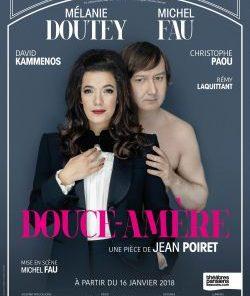 Douce amère, de Jean Poiret, mise en scène Michel Fau, au Théâtre des Bouffes Parisiens