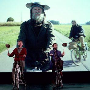 Dans la peau de Don Quichotte, d'après Cervantès, un spectacle de Métilde Weyergans et Samuel Hercule / La Cordonnerie, Nouveau Théâtre de Montreuil