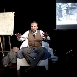 Les forçats de la route, d'Albert Londres, conçu et mis en scène par Nicolas Lormeau, Comédie-Française Studio