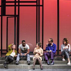 Dîner en ville, de Christine Angot, mise en scène Richard Brunel, Théâtre de La Colline