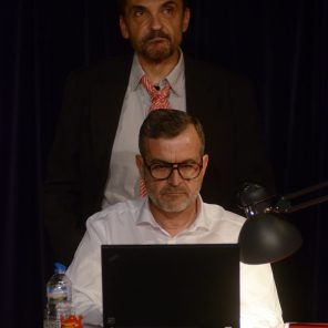 Cravate Club, de Fabrice Roger-Lacan, mise en scène par Jérôme Sanchez, à Comédie Nation
