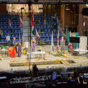 Je suis un pays, de Vincent Macaigne mise en scène Vincent Macaigne, au Théâtre de la Colline