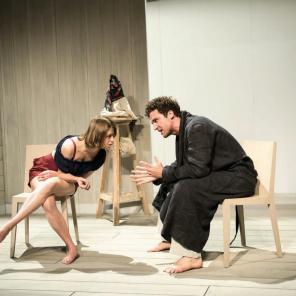 Les Créanciers d'August Strindberg, mise en scène d'Anne Kessler