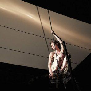 VxH - La Voix Humaine, d'après Jean Cocteau, adaptation et mise en scène Roland Auzet, Le CENTQUATRE-PARIS